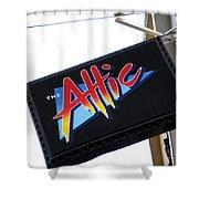 The Attic Myrtle Beach Sc Shower Curtain