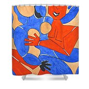 The Attraction One Shower Curtain