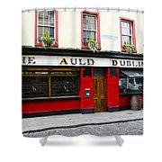 The Auld Dubliner  Shower Curtain