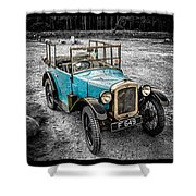 The Austin 7 Shower Curtain by Adrian Evans