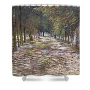 The Avenue At The Park Shower Curtain