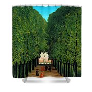The Avenue In The Park At Saint Cloud    Shower Curtain