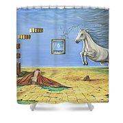The Awakening Shower Curtain