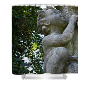 The Baby At Gibraltar 2 Shower Curtain