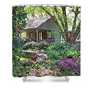 The Back Porch Shower Curtain