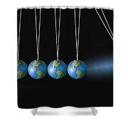 The Balance Shower Curtain