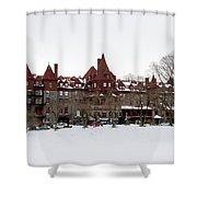 The Baldwin School Shower Curtain