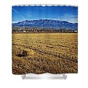 The Bale - Sandia Mountains - Albuquerque Shower Curtain
