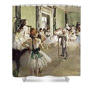 The Ballet Class Shower Curtain