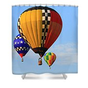 The Balloons Shower Curtain