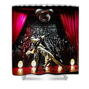 The Ballroom Dancers Shower Curtain