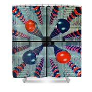 The Balls Shower Curtain