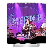 The Band America Shower Curtain
