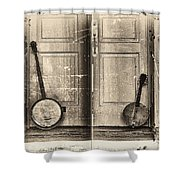 The Banjo Story Shower Curtain