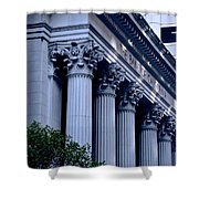 The Bank Of California Shower Curtain