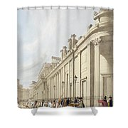 The Bank Of England Looking Towards Shower Curtain