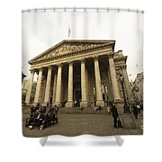 The Bank Of England  Shower Curtain