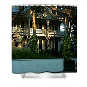 The Banyan House Resort In Key West Shower Curtain
