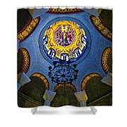 The Baptistery Of Lydia Shower Curtain
