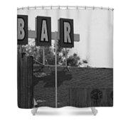 The Bar Shower Curtain
