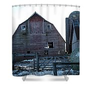 The Barn 3 Shower Curtain