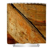 The Barn Door Shower Curtain by William Jobes