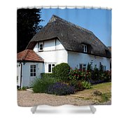 The Barn House Nether Wallop Shower Curtain