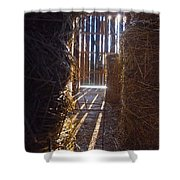 The Barn. Shower Curtain