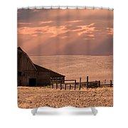 The Barn Lot Shower Curtain