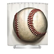The Baseball Shower Curtain
