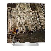 The Basilica Di Santa Maria Del Fiore  Shower Curtain
