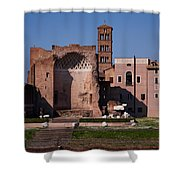 The Basilica Of Constantine Shower Curtain