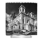 The Basilica Of St Mary Shower Curtain
