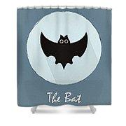 The Bat Cute Portrait Shower Curtain