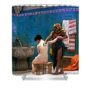 The Bath Shower Curtain
