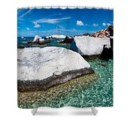 The Baths Shower Curtain