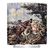 The Battle Of Bouvines, 1214 Shower Curtain
