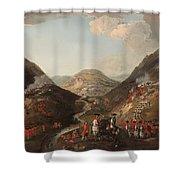 The Battle Of Glen Shiel 1719 Shower Curtain
