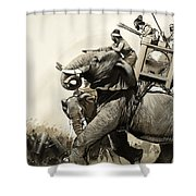 The Battle Of Zama In 202 Bc Shower Curtain