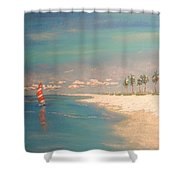The Bay Shower Curtain by The Beach  Dreamer