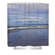 The Beach At Seaside Shower Curtain