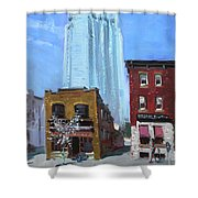 The Beauty N' The Background In London Canada Shower Curtain