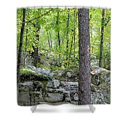 The Beauty Of Boulder Field Shower Curtain