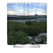 The Beauty Of Connecticut's Shoreline Shower Curtain