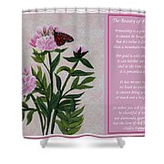 The Beauty Of Friendship Shower Curtain