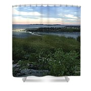 The Beauty Of Long Island Sound Shower Curtain