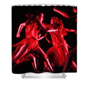 The Beauty Of Motion Shower Curtain
