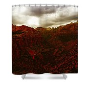 The Beauty Of Zion Natinal Park Shower Curtain