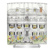 The Beekman Arms In Rhinebeck Shower Curtain