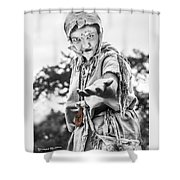 The Begging Leprous Shower Curtain